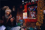 Nepal, Pashupatinath Holy Man